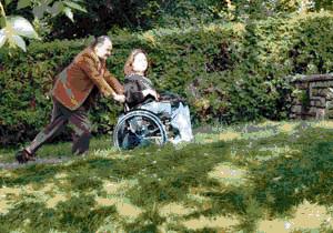 Quelques images de la passerelle d'accès pour handicapés